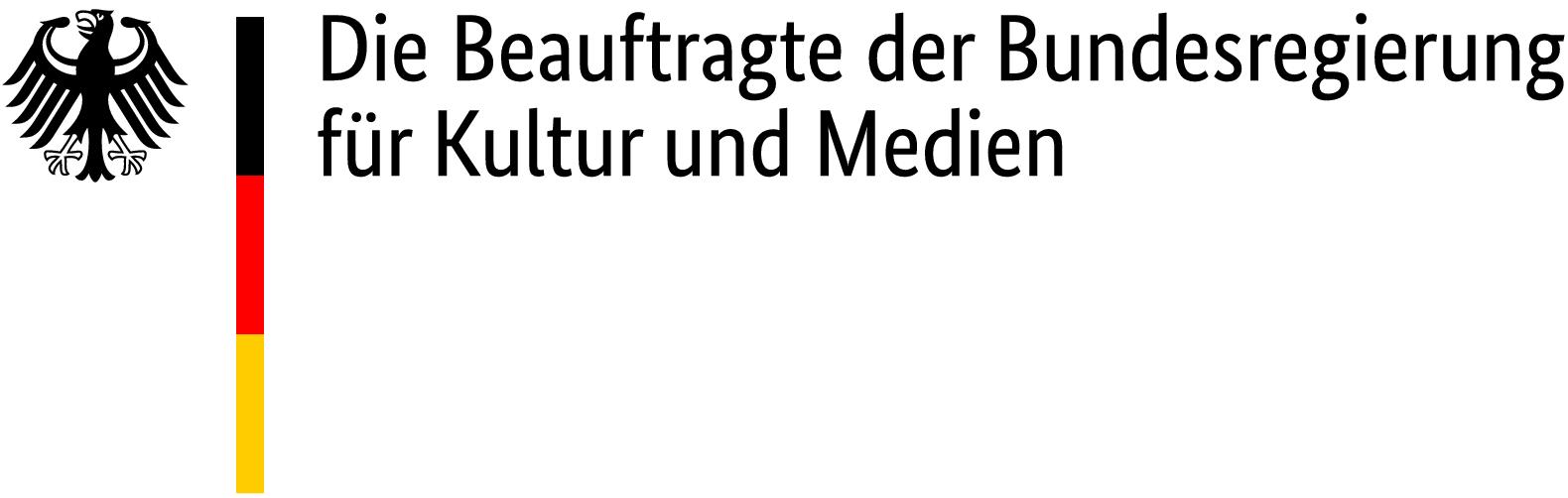Die Beauftragte der Bundesregierung für Kultur und Medien Logo