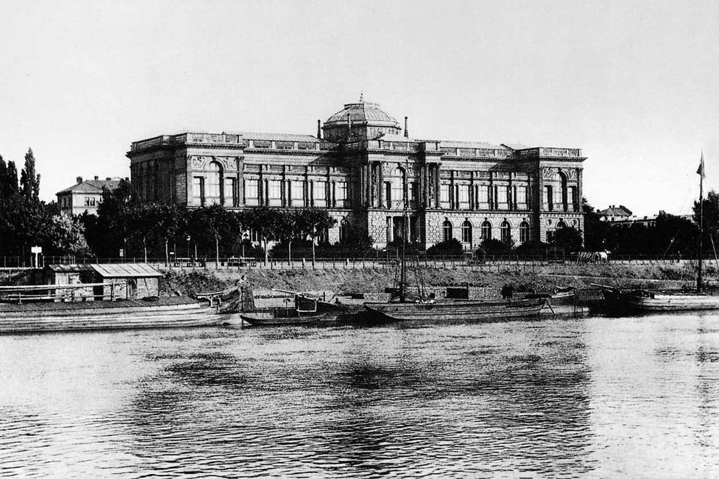 Das Städelsche Kunstinstitut in Frankfurt am Main 1917