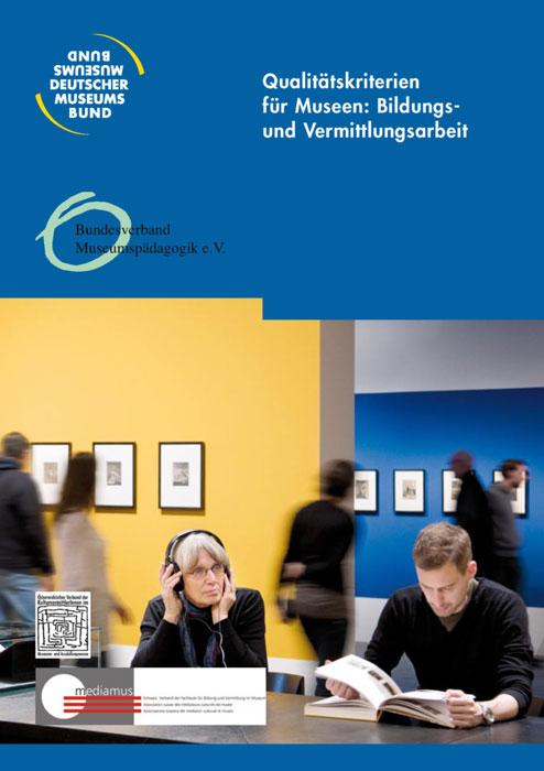 Cover Leitfaden Qualitaetskriterien für Museen