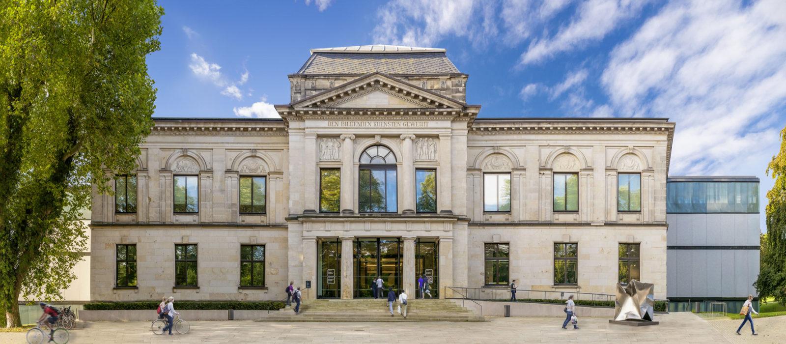 Ansicht Kunsthalle Brmen von außen