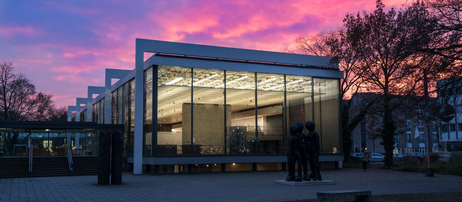 Ansicht Lehmbruck-Museum von außen
