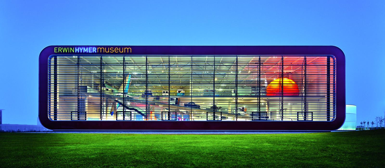 Ansicht Erwin-Hymer-Museum von außen