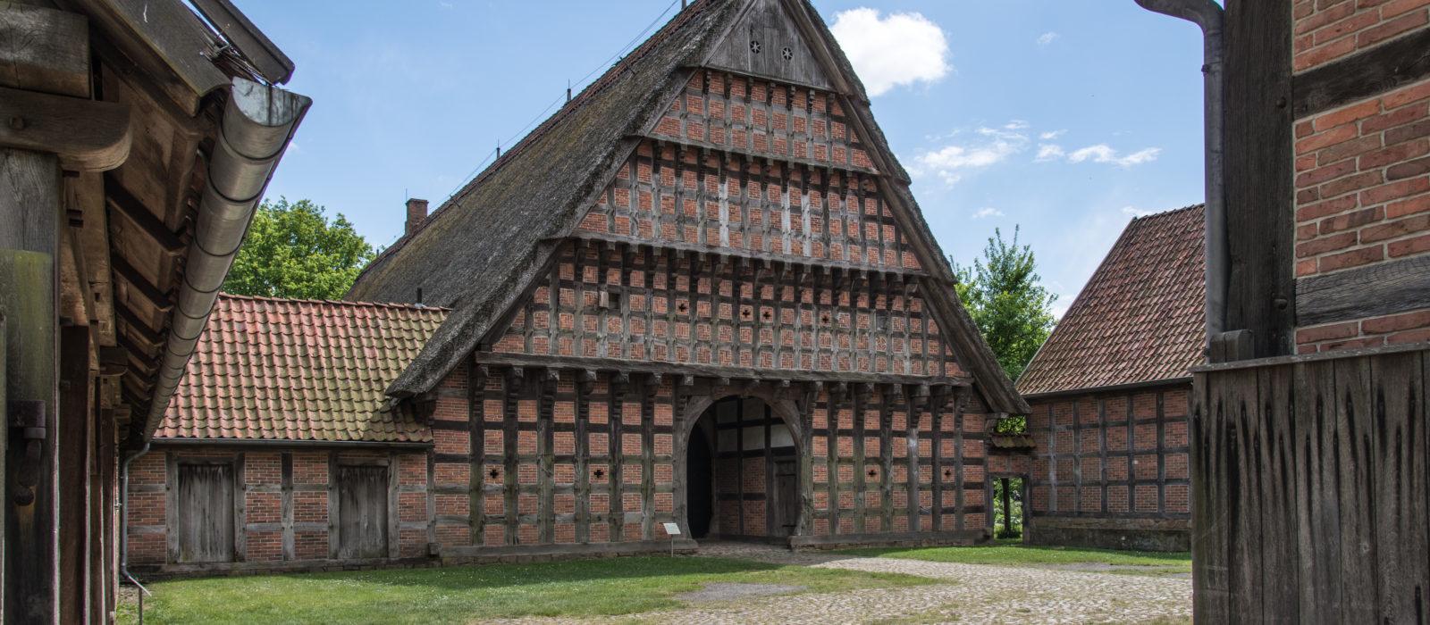 Außenansicht Museumsdorf Cloppenburg