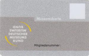 Abbild Mitgliedsausweis Deutscher Museumsbund