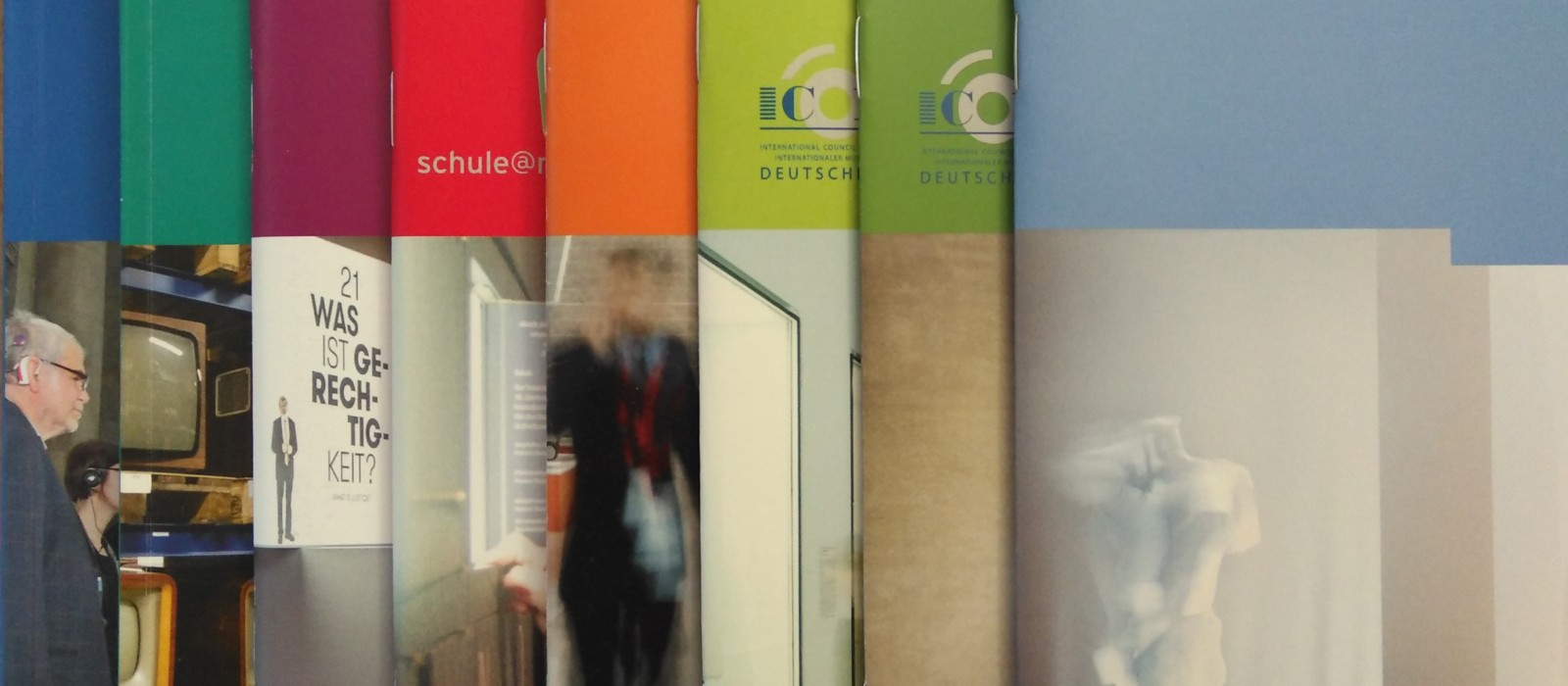 Fächer der Leitfäden vom Deutschen Museumsbund