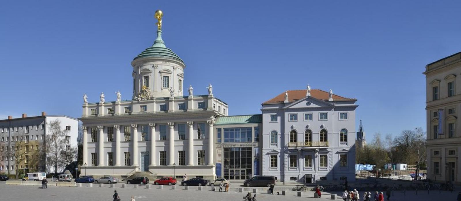 Außenansicht des Potsdam Museum - Forum für Kunst und Geschichte