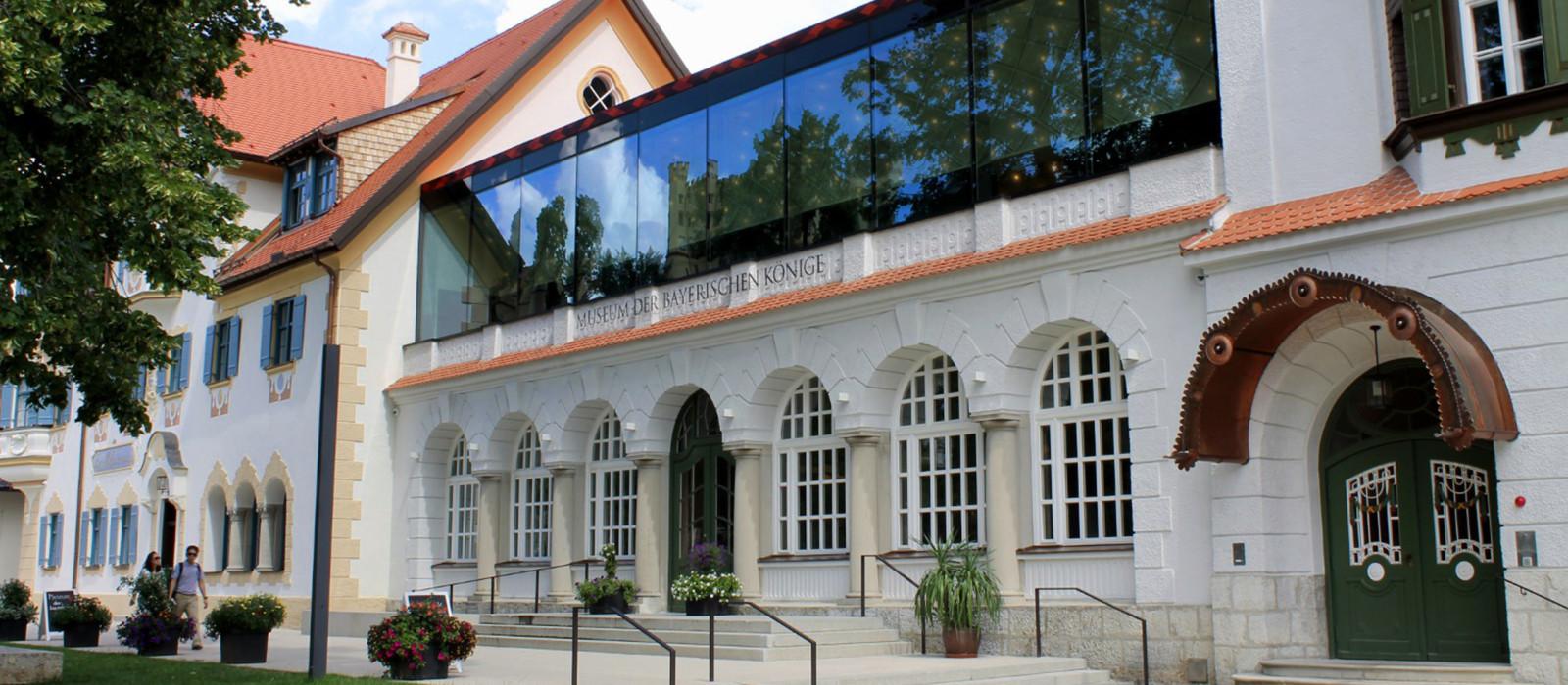 Aussenansicht Museum Bayerische Könige