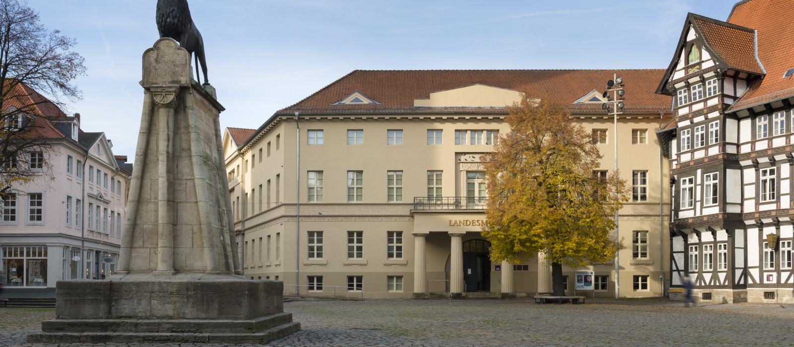 Außenansicht Landesmuseum Braunschweig