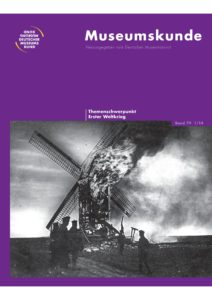 Erster Weltkrieg – Deutscher Museumsbund e.V.  Erster Weltkrie...