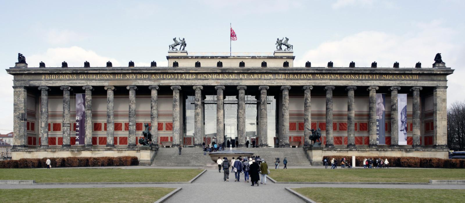 Außenansicht: Altes Museum