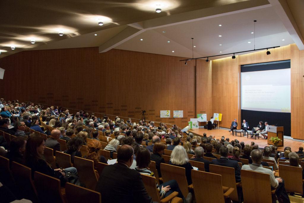 Blick in den Tagungsraum bei der DMB-Jahrestagung 2017