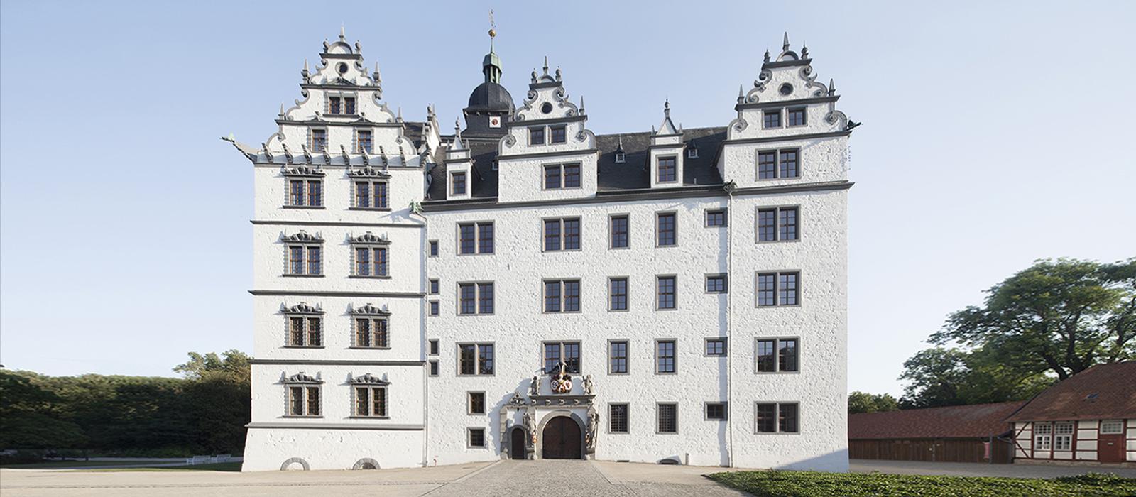 Außenansicht Schloss Wolfsburg