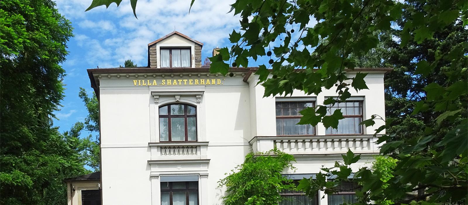 Außenansicht der Villa Shatterhand