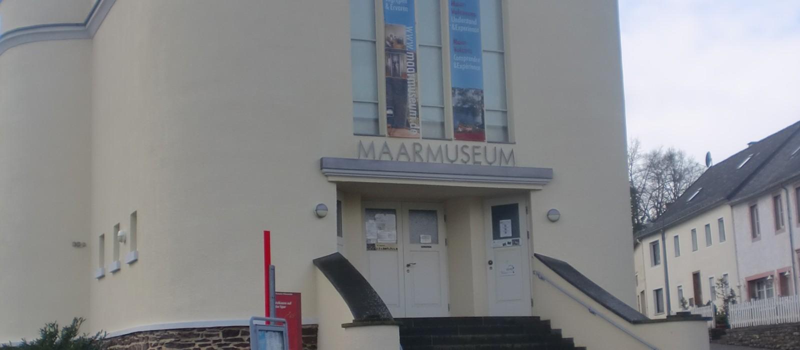 Außenansicht Maarmuseum