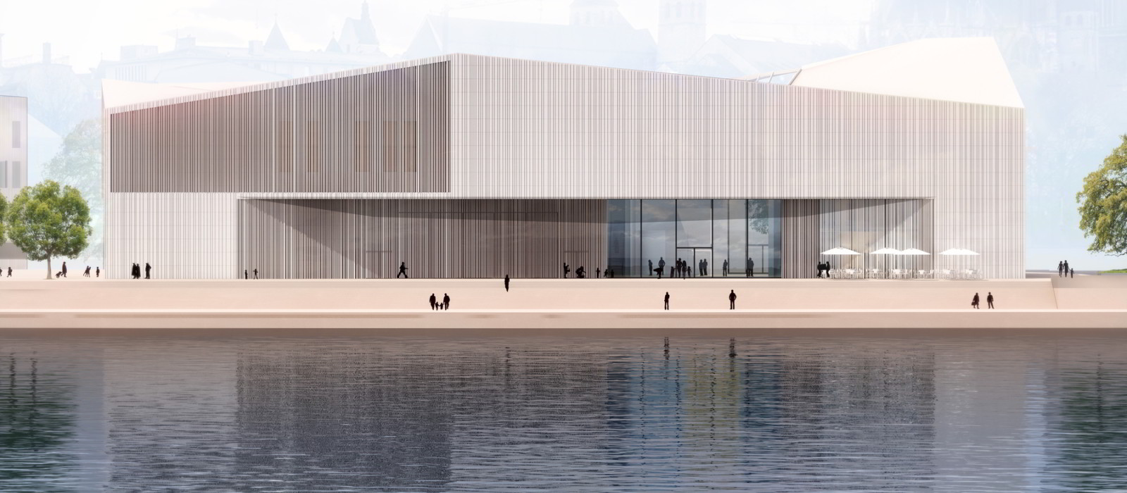 Digitale Architekturzeichnung Museum