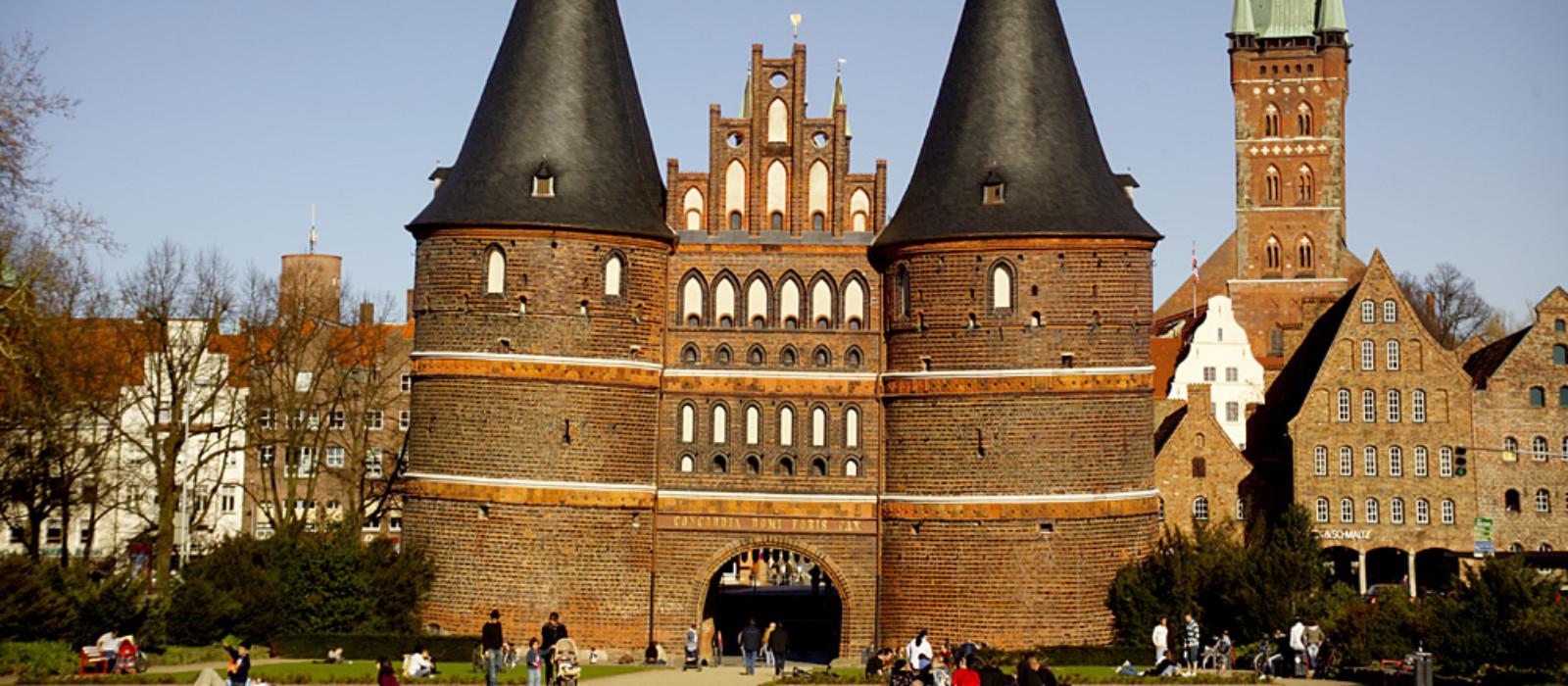 Ansicht Holstentor Lübeck