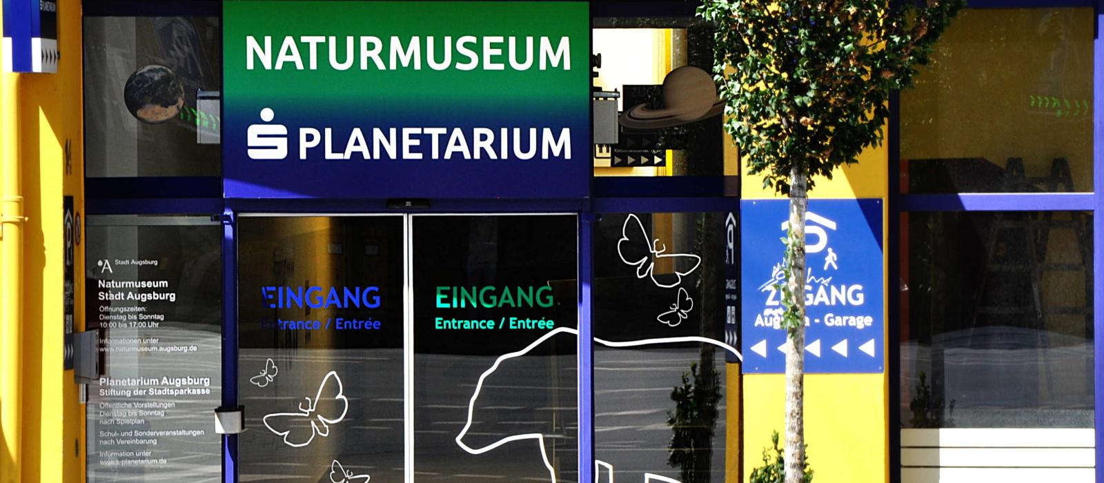 Eingangsbereich Naturmuseum Augburg