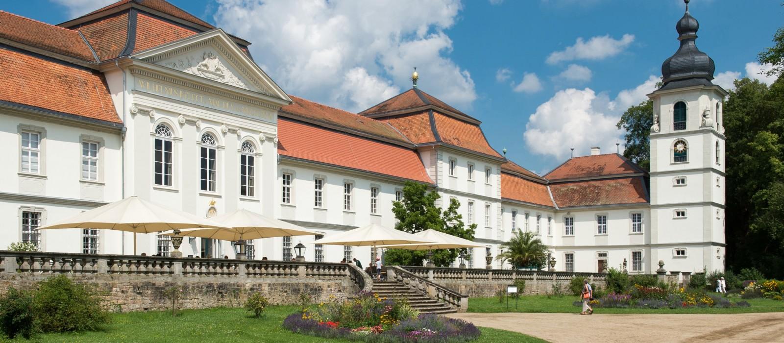 Außenansicht des Schloss Fasanerie