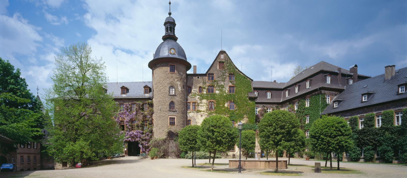 Ausansicht Schloss Laubach
