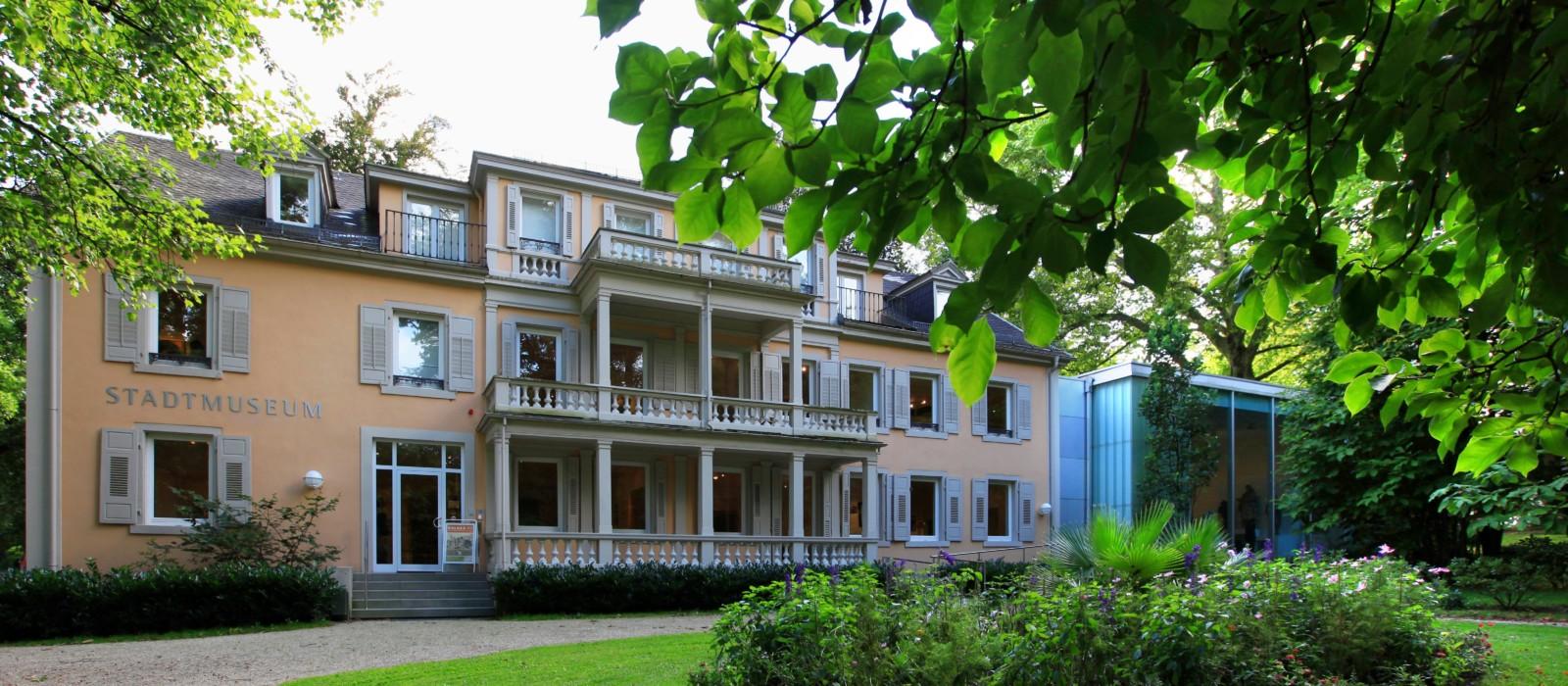 Außenansicht Stadtmuseum Baden-Baden