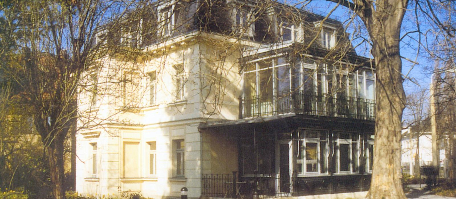 Außenansicht Erich Kästner Museum