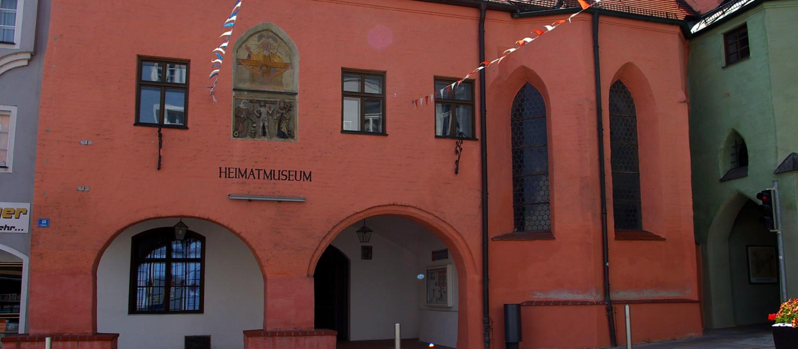 Außenansicht Heimatmuseum Vilsbiburg