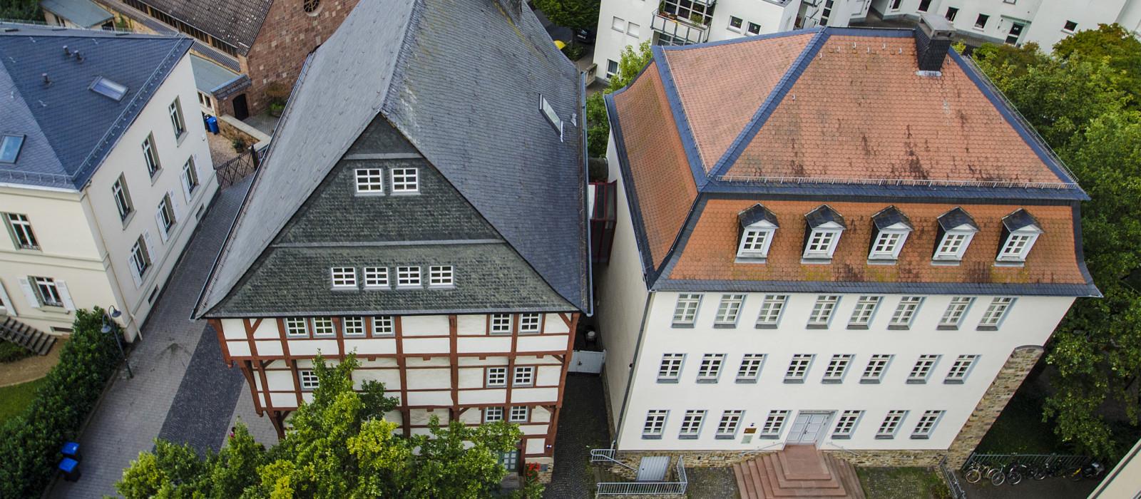 Luftbild Oberhessisches Museum