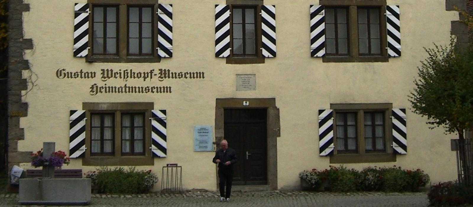 Fassade Deutsches Flugpioniermuseum