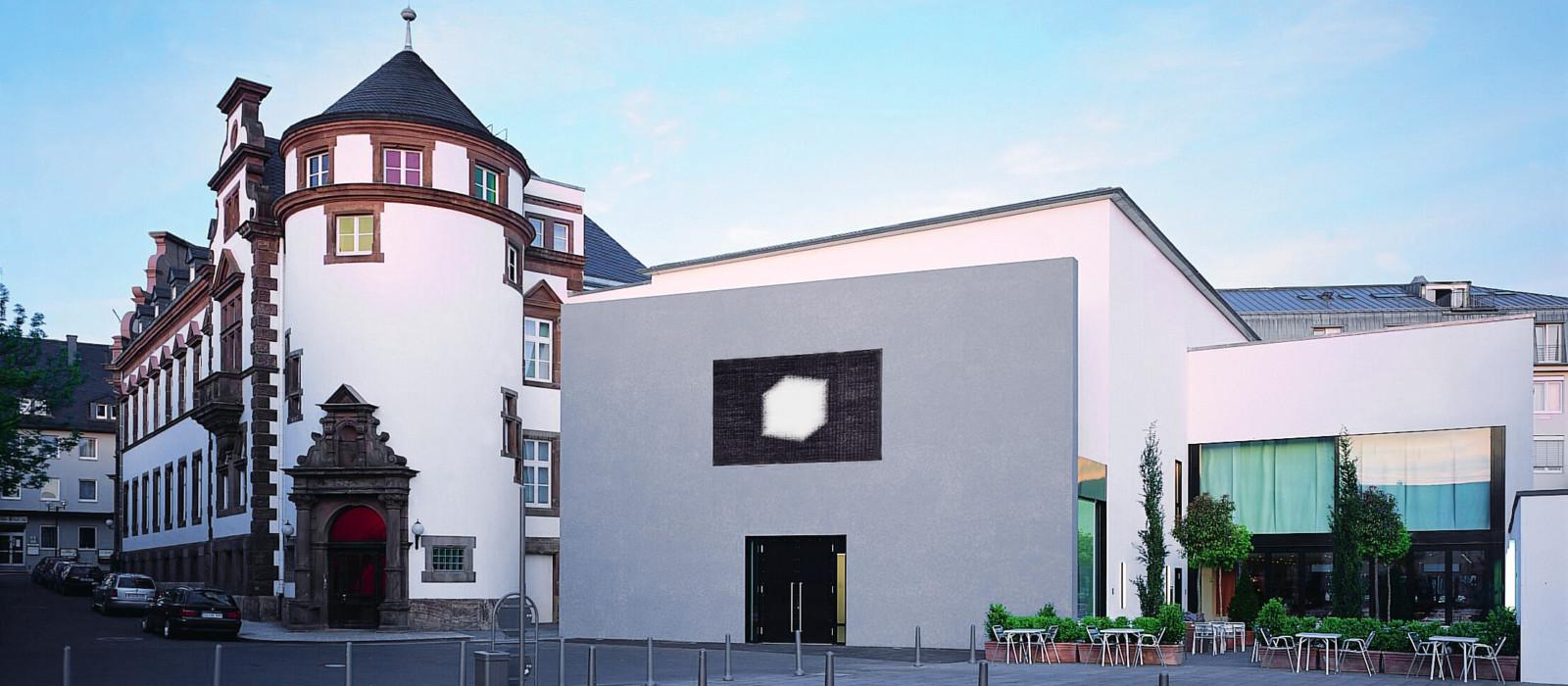 Außenansicht Museum für Gegenwartskunst Siegen