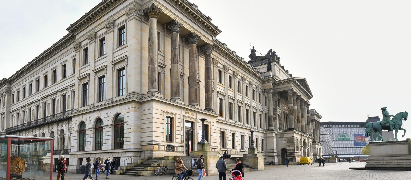 Außenansicht Schlossmuseum Braunschweig