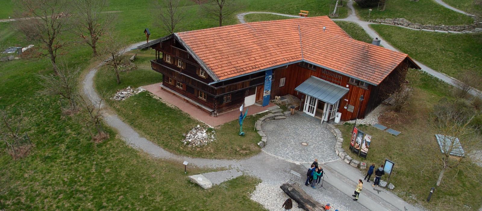 Außenansicht Museum Wald und Umwelt