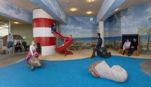 Blick in den Kinderbereich/ Spielbereich des Ozeaneums Stralsund,