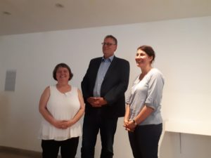 Das neue Sprecherteam der FG Dokumentation | Foto: Sonja Nolte