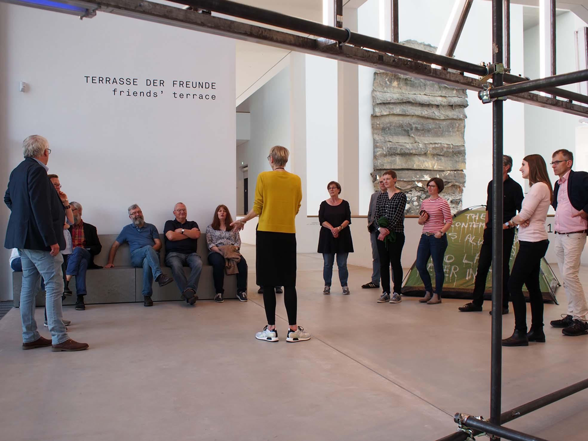 In der Kunsthalle Mannheim