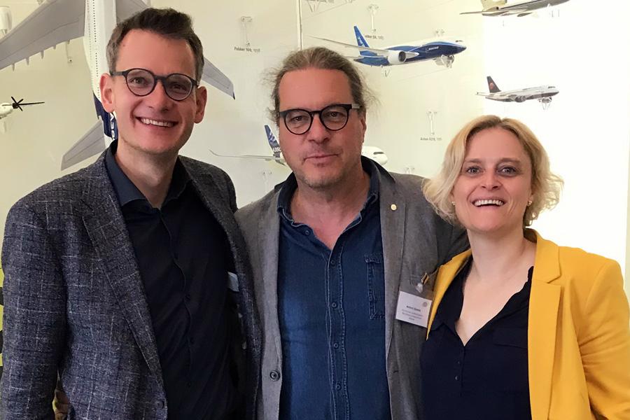 Das Sprecherteam: Oliver Götze, Andrej Quade, Marion Grether (v. l.) | Foto: W. Iffländer