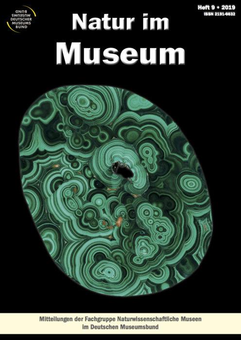 Titelbild Zeitschrift Natur im Museum, 2019